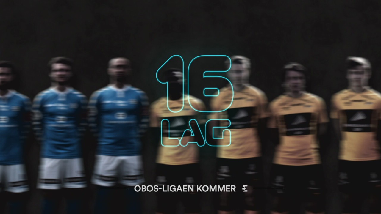 Promo for OBOS-ligaen